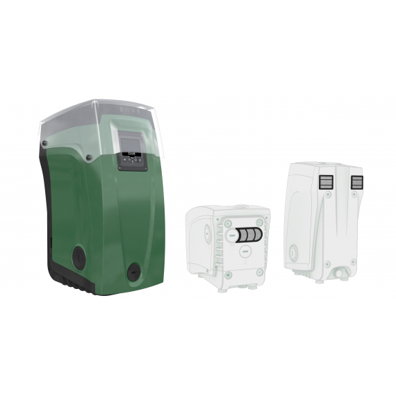 DAB - KIT OUTDOOR PER E.SYBOX MINI - E.sygrid + E.sycover