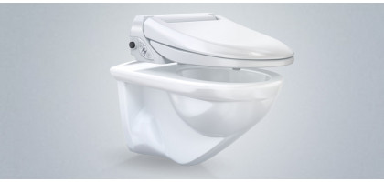 GEBERIT AQUACLEAN 4000 SET | serie WATER con BIDET AQUA CLEAN
