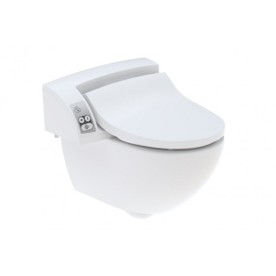 GEBERIT AQUACLEAN 5000plus SET | WC SUPER HI TECH con BIDET