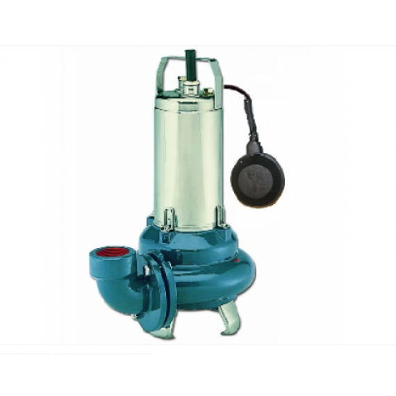 ELETTROPOMPA SOMMERGIBILE PER ACQUE REFLUE LOWARA DL 125/A kW 1.5-HP 2
