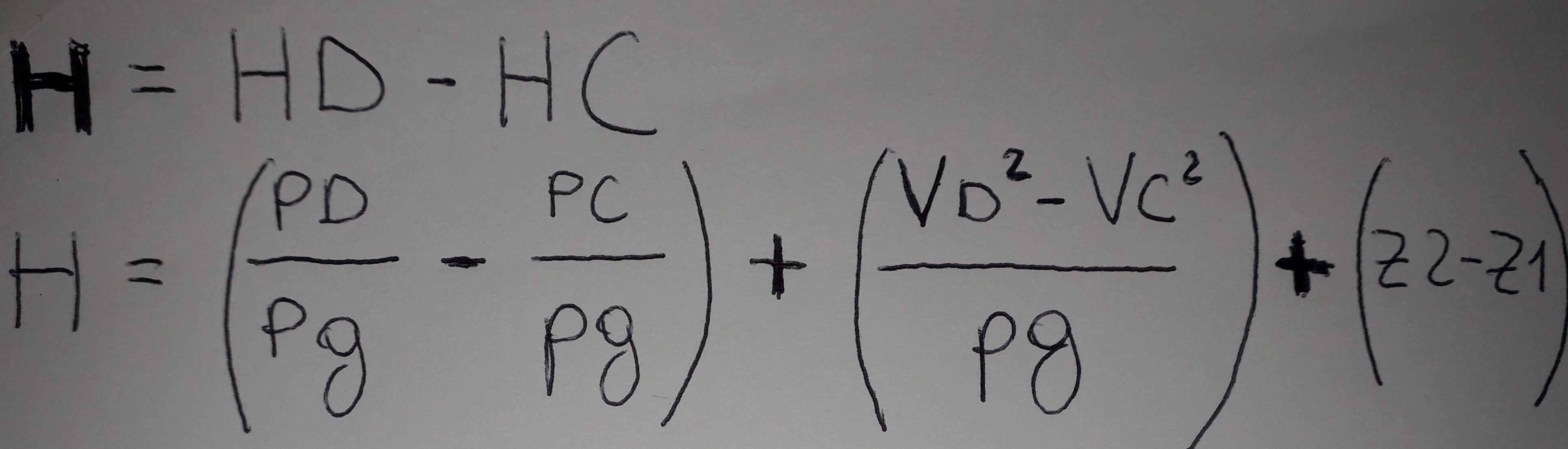 calcolo massimo carico pompa centrifuga