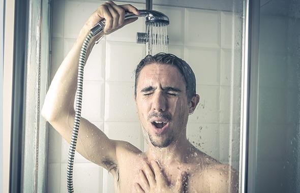 doccia fredda a causa della caldaia