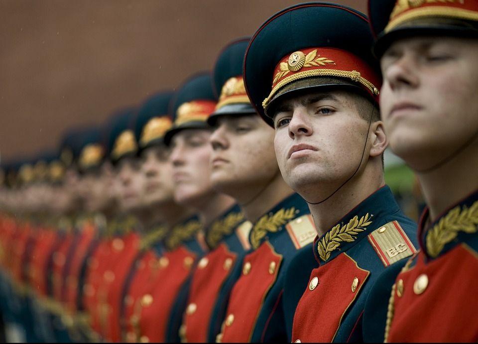 guardia russia in fila