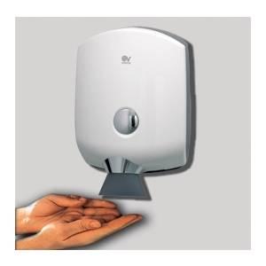 posizione corretta mani asciugamani elettrico