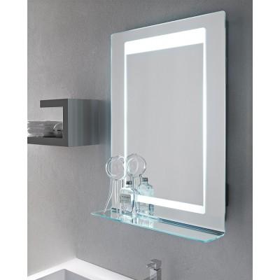 Specchio Da Bagno Con Luci Led.Installazione Del Sistema Di Illuminazione Di Uno Specchio In Un Bagno