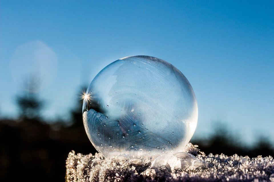 sfera trasparente
