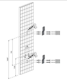 Colonna doccia keros parete doccia idromassaggio for Altezza miscelatore doccia