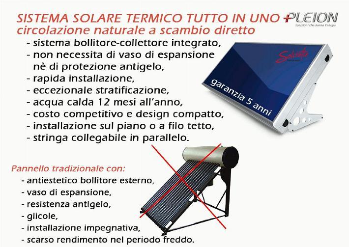 Pannello Solare Solcrafte : Pannello solare termico solcrafte style s