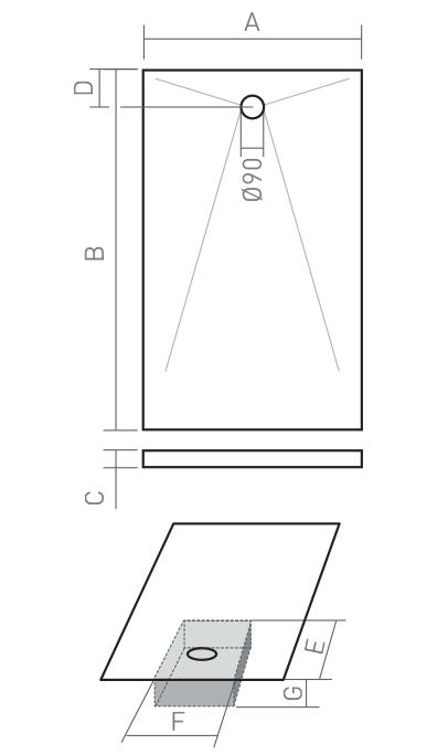 Box Doccia Cristallo Costo : Piatto doccia a filopavimento subito disponibile