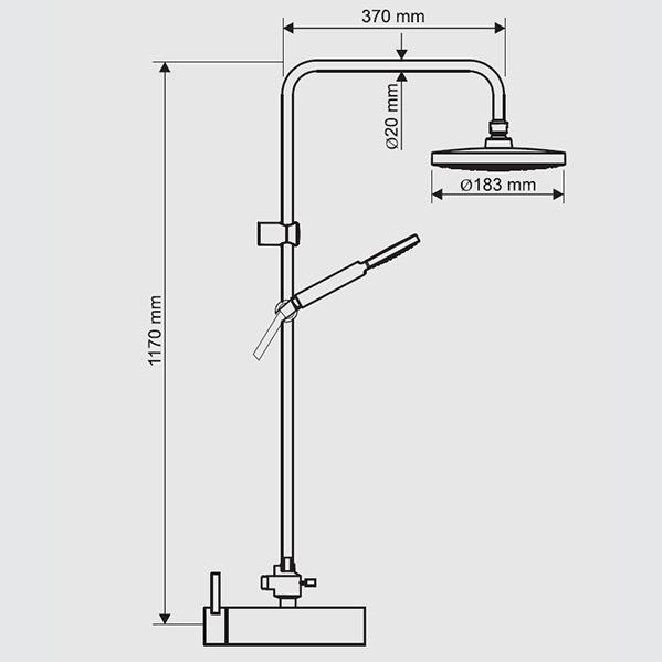 colonna-doccia-calliope-rubinetto